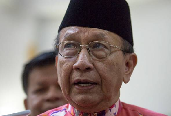 Rais Yatim is the new Dewan Negara president.